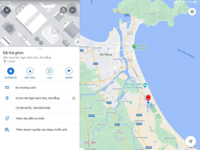 Bán đất đường Thép Mới, Tân Trà, Hoà Hải, Ngũ Hành Sơn ảnh 0