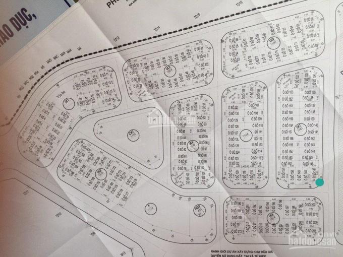 Bán 80m2 đất - khu tái định cư phân lô Tứ Hiệp - Thanh Trì - Hà Nội. LH 0937119669 ảnh 0