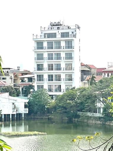 Bạn có muốn sở hữu cả tòa căn hộ 8 tầng có thang máy, hầm xe hơi, 3 mặt thoáng Hồ Tây không? ảnh 0