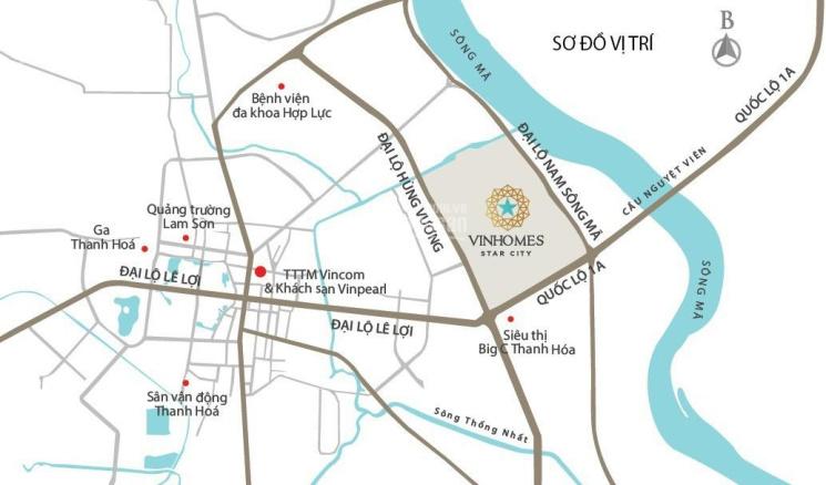 Bán căn LK 5,5 tỷ (chiết khấu 8%) tỷ vừa ở vừa kinh doanh dự án Vinhomes Star City Thanh Hóa ảnh 0