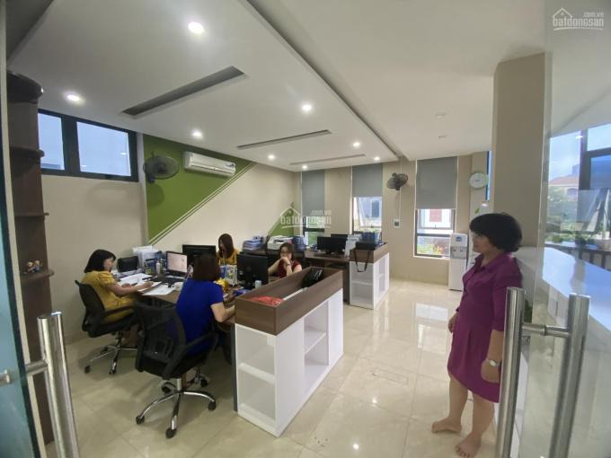 Cho thuê nhà Nguyễn Xiển, Thanh Xuân. DT đất 175m2, XD 80m2*4 tầng, MT 18m căn góc giá 38 tr/th ảnh 0