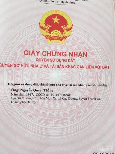 Bán đất đấu giá Vác và Rặng Sắn, Thanh Oai, Hà Nội ảnh 0