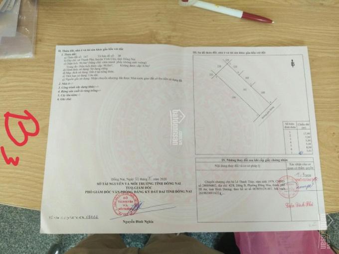 Bán đất nền dự án KDC Lavender Thạnh Phú, Vĩnh Cửu, Đồng Nai ảnh 0