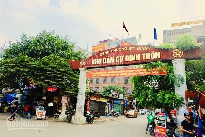 Bán nhà đất khu vực đắc địa nhất của phố Đình Thôn quận Nam Từ Liêm, diện tích 255m2, mặt tiền 7m ảnh 0