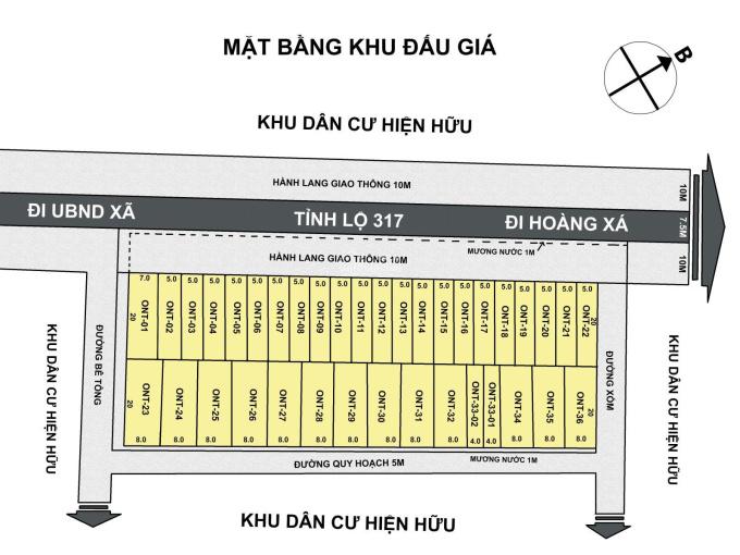 Chính chủ cần bán lô đất mặt đường Tỉnh Lộ 317, Thanh Thủy, Phú Thọ, DT 100m2, MT 5m ảnh 0