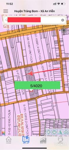 Bán đất An Viễn, Trảng Bom, Đồng Nai, sổ riêng thổ cư, 5x21.4m ảnh 0
