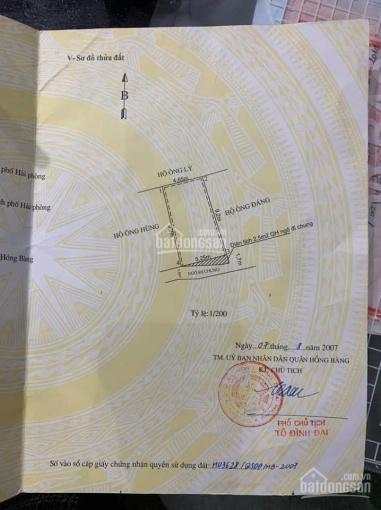 Bán đất tặng nhà ngõ 90 Vạn Kiếp, Thượng Lý, Hải Phòng ảnh 0