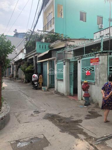 Nhà 2 mặt tiền hẻm xe tải 100m2, Đông Hưng Thuận, Quận 12 ảnh 0