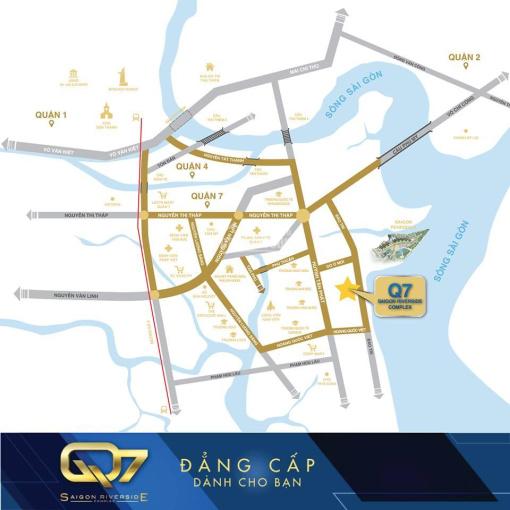 Bán căn trệt thương mại phục vụ hơn 5000 cư dân tại Q7 Saigon Riverside. LH: 03.999555.95 ảnh 0