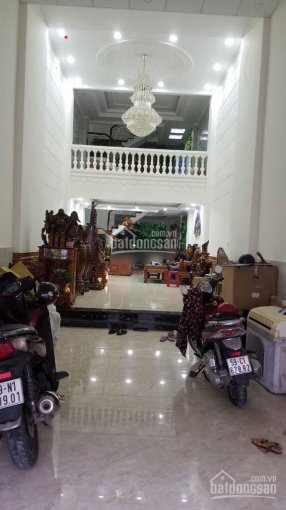 Nhà mặt tiền [4.5x27] 3 lầu 5PN - đường Trương Phước Phan, Bình Tân, mới 100%, ngay chung cư ảnh 0