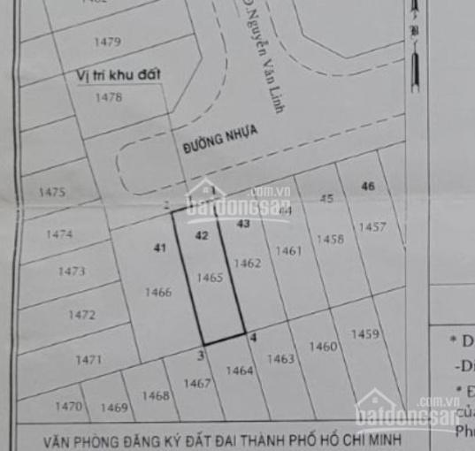 Bán đất KDC Chợ Bình Điền, quận 8, 80m2, 4.1 tỷ ảnh 0