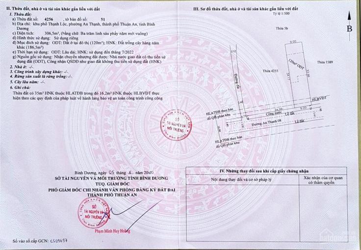 Bán lô đất An Thạnh 08 - Thuận An - Bình Dương ảnh 0