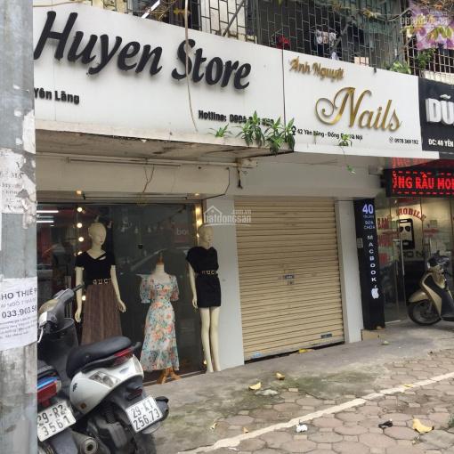 Chính chủ bán cửa hàng tại 42 Yên Lãng, DT: 55m2, mặt tiền thoáng, vỉa hè rộng, phù hợp kinh doanh ảnh 0