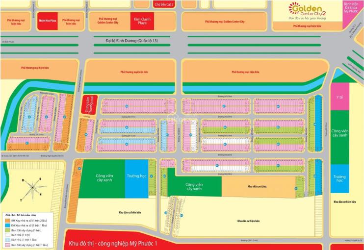 Cần bán gấp lô đất đối diện bờ kè đường D7 dự án Golden 2 Kim Oanh giá tốt ảnh 0