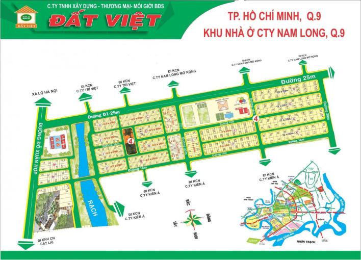 Cần bán rất gấp lô G, KDC Nam Long, Quận 9, DT: 240m2, vị trí đẹp, đường 16m ảnh 0