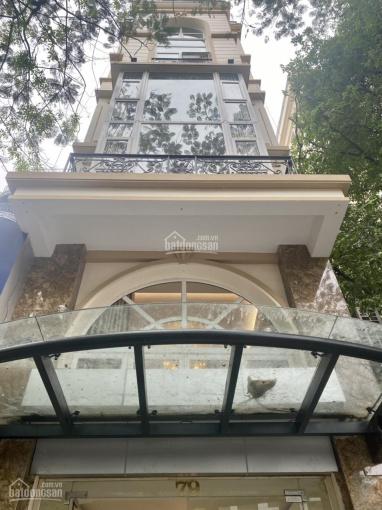Cho thuê nhà mới xây MP Trần Hưng Đạo 50m2 x 7 tầng, MT 5m, có thang máy. LH: 0946850055 ảnh 0