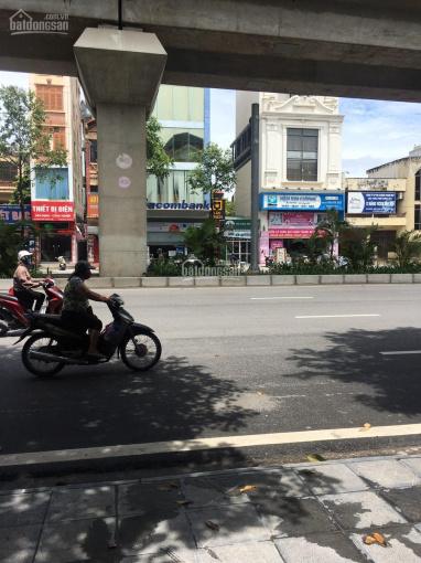 Cho thuê nhà mặt phố Quang Trung, Hà Đông, dt 600m2 x 5 tầng, thông sàn, đh, thang máy nhà mới ảnh 0