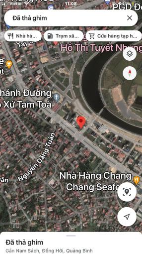 Bán lô đất 2 mặt tiền đường Phạm Văn Đồng, TP Đồng Hới, Quảng Bình ảnh 0
