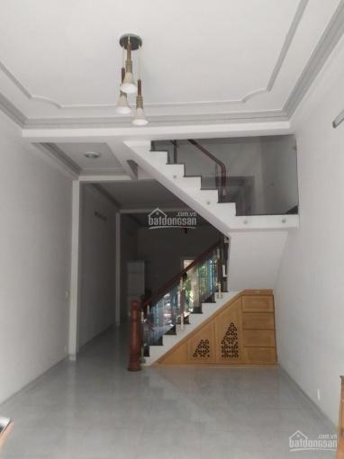 Nhà nguyên căn 4x20m, trệt, lầu, 3PN, nhà mới, 18 triệu/ tháng. Đường số KDC Tân Quy 0903162785 ảnh 0