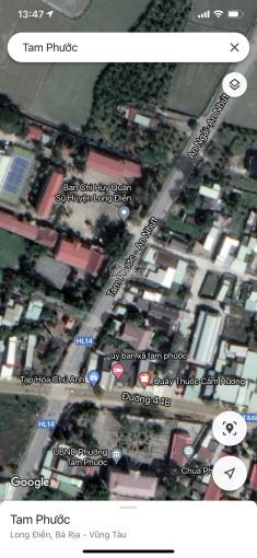 Bán đất mặt tiền Hương Lộ 14, 126m2 2 tỷ. LH: 0909694604, không tiếp môi giới ảnh 0