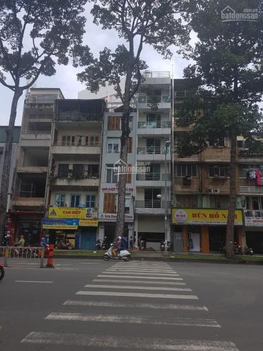 Mặt tiền 46 Lê Thị Riêng, P Bến Thành, Quận 1 DT: 4x17m KC: Trệt, 6 lầu giá 75 triệu ảnh 0