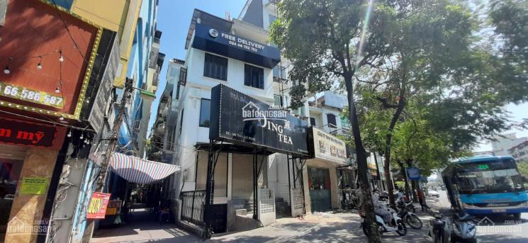 Cho thuê nhà mặt phố 148 Trần Duy Hưng, 90m2 3 tầng, mặt tiền 7m, có hầm xe, thông sàn 0976.075019 ảnh 0
