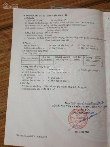 Chính chủ cần bán nhà mới 2.5 tầng ở P. Lộc Vượng, Nam Định, LH: 0968060156 ảnh 0