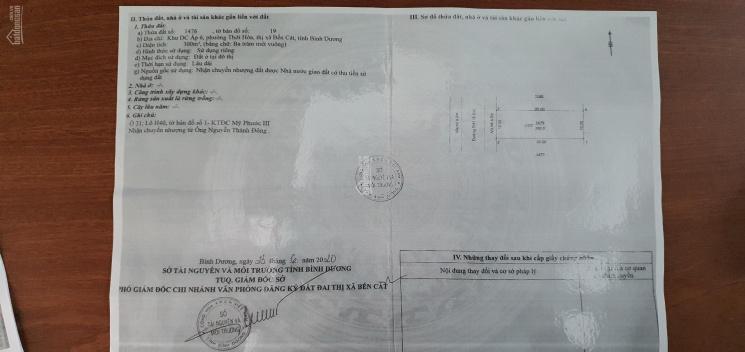 Bán nhà đất kèm 2 dãy trọ 16 phòng, mặt tiền đường DH1, khu Mỹ Phước 3 Bến Cát, Bình Dương ảnh 0