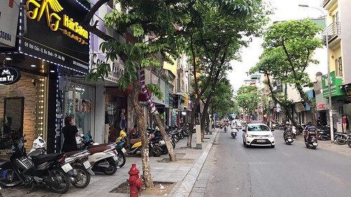 Mặt phố lớn Ba Đình - vỉa hè rộng - kinh doanh - 3 mặt thoáng - 55m2 6 tầng mặt tiền 5.7m 17.7 tỷ ảnh 0