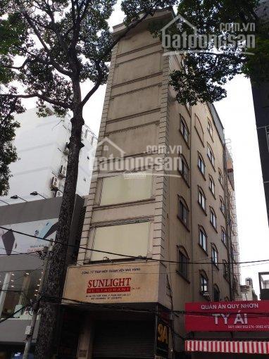 Bán khách sạn mặt tiền đường Bùi Viện, P. Phạm Ngũ Lão, quận 1 DT: 4x20m 1 hầm, 12 tầng. 77 tỷ ảnh 0