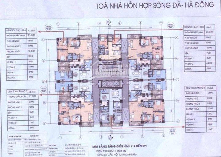 Gia đình tôi cần bán gấp căn hộ 131 tòa nhà Sông Đà, Nguyễn Trãi, Hà Đông ảnh 0