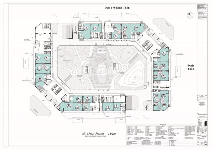Bán Shophouse chân đế chung cư CT8 Emerald Vimefulland Mỹ Đình, diện tích 82m2 giá LH 0902464688 ảnh 0