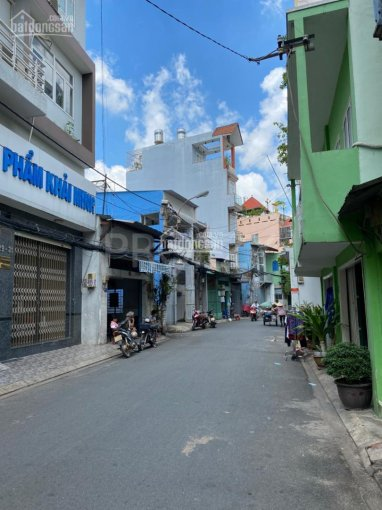 Nhà MT đường Số 10, 4.25 x 10.2m, 5 tầng, P10, QTB. Giá 8.5 tỷ (gần chợ Tân Bình) ảnh 0