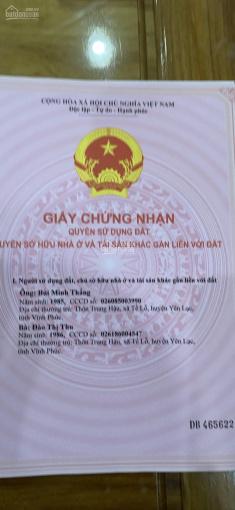 Cần tiền gấp bán ô đất 200m2 tuyệt đẹp, 100% thổ cư tại Minh Quang Tam Đảo, giá cực mềm ảnh 0