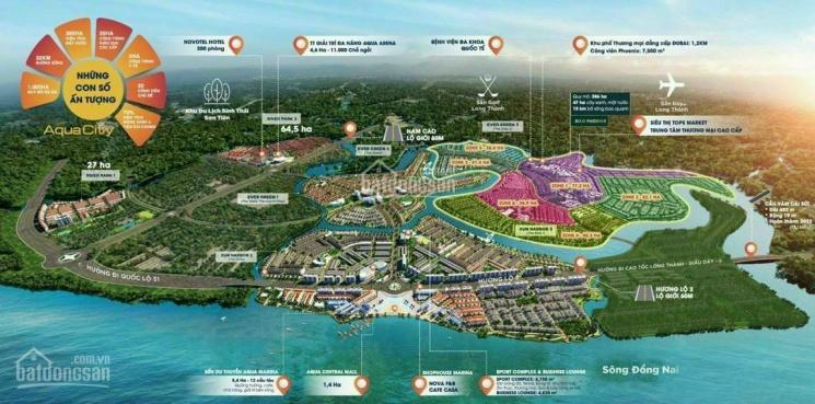 Dự án Aqua City, bán Aqua City Novaland, nhà phố, biệt thự, shophouse, đảo Phượng Hoàng, giá 5,3 tỷ ảnh 0