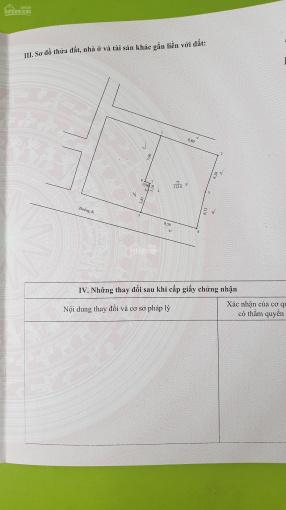 Chính chủ cần bán 122,6m2 đất Bờ Sông Sét phường Thịnh Liệt quận Hoàng Mai Hà Nội ảnh 0