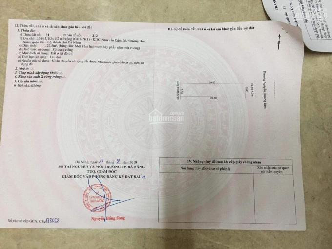 Bán đất giá rẻ đường Nguyễn Quang Lâm hướng Đông ảnh 0