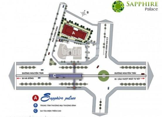 Chính chủ cần bán lại căn Duplex 260m2 tại Sapphire Palace số 4 phố Chính Kinh, quận Thanh Xuân ảnh 0