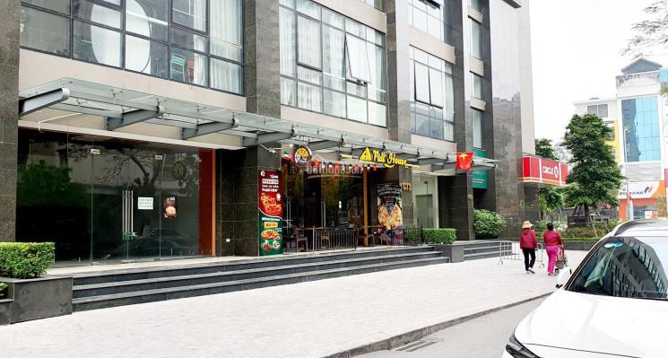 Cho thuê MB 118m2 tầng 1 CT3 chung cư Park View - Vũ Phạm Hàm, Cầu Giấy, HN ảnh 0