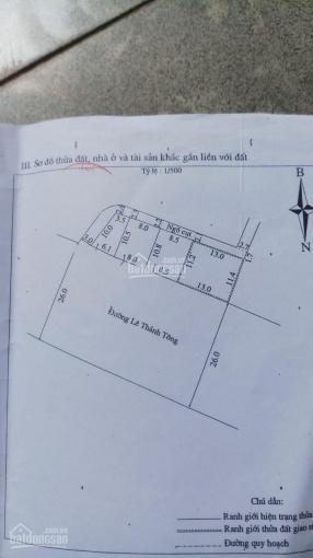 Bán đất mặt tiền Lê Thánh Tông, ngay trung tâm TP Đông Hà, khu kinh doanh sầm uất ảnh 0