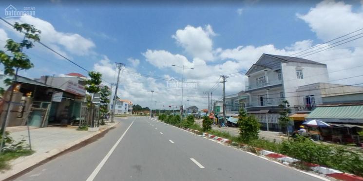 Mặt tiền ĐT 744 Nguyễn Chí Thanh xã Phú An, Bến Cát, DT 6466m2 có 300m2 TC 36x180m tiện làm kho bãi ảnh 0