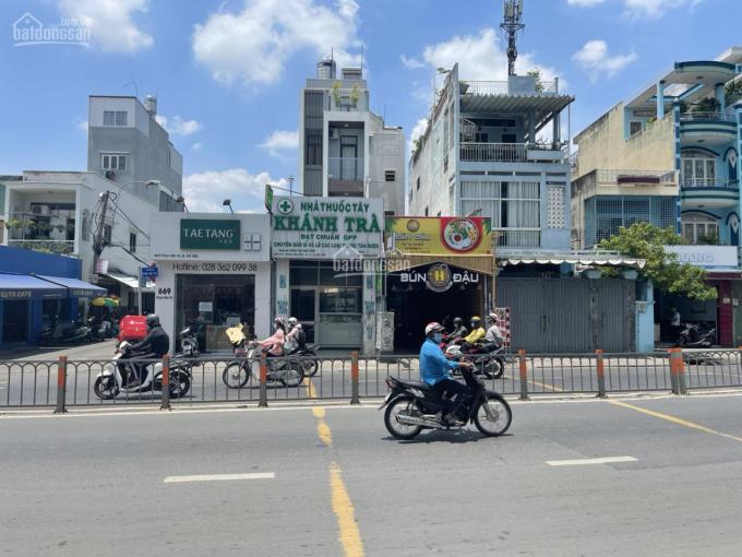 Mặt tiền Phan Văn Trị, P10. DT: 6.5*28m, KC: 3 lầu ST, giá 28 tỷ TL, đang cho thuê 90tr/1 tháng ảnh 0