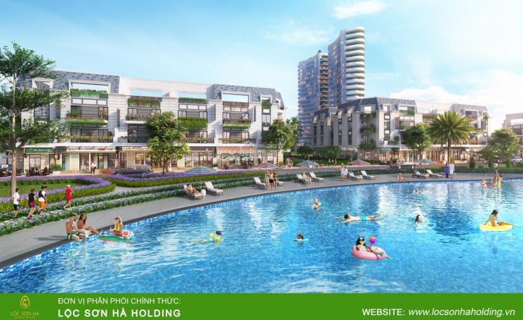 Bán lại shophouse view hồ bơi - Khu đô thị FLC Kon Tum ảnh 0