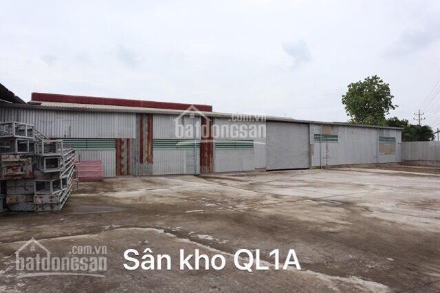 Bán đất + nhà xưởng mặt tiền Quốc Lộ 1A, Bến Lức, Long An ảnh 0