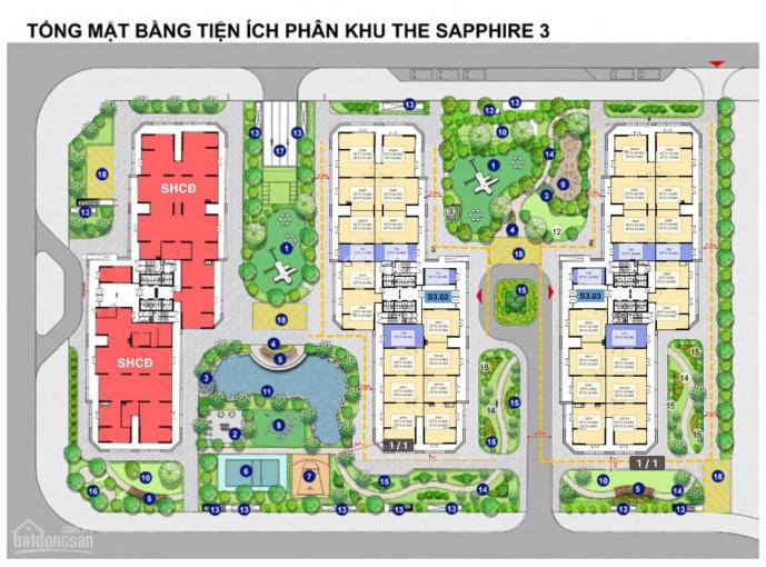 Cần cho thuê gấp quỹ căn shop chân đế kinh doanh Sapphire 3 Vinhomes Smart City, Tây Mỗ ảnh 0