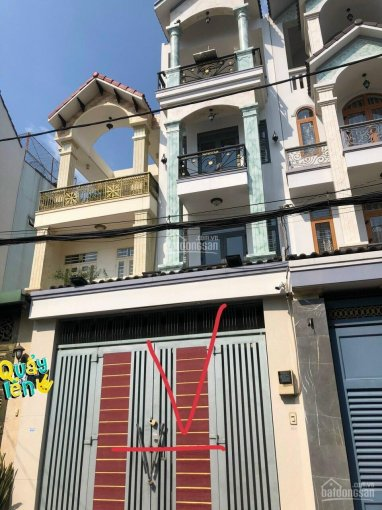 Cho thuê nhà HXT 1 trệt 3 lầu Phạm Văn Chiêu, P14, Gò Vấp, nhà full nội thất, 0932054977 ảnh 0