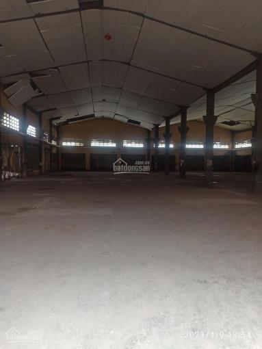 Cho thuê kho xưởng 1600m2 sân đỗ container mặt tiền đường Hương lộ 2, Q. Bình Tân ảnh 0
