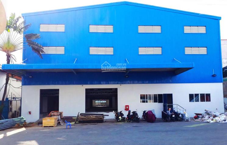 Cho thuê kho xưởng 4500m2 container đỗ cửa vị trí 2 mặt tiền Đ.Trần Xuân Soạn, P. Tân Kiểng, Q.7 ảnh 0