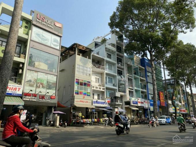 Bán nhà mặt tiền Trần Hưng Đạo, Quận 5 (8x26m) 6 lầu, giá thương lượng ảnh 0