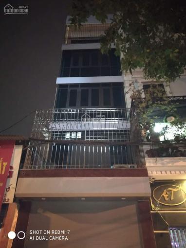 Cho thuê nhà phố Trần Hưng Đạo Hoàn Kiếm DT 120m2, 7tầng, MT 5m thông sàn, thang máy giá 80 tr ảnh 0